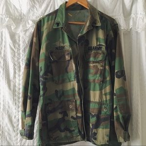 Jackets & Blazers - Vintage authentic army jacket